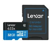 Lexar High-Performance 633x microSDHC UHS-I 32 GB