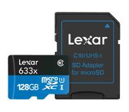 Lexar High-Performance 633x microSDXC UHS-I 128 GB