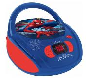 Lexibook Radio CD player Spider Man Draagbare cd-speler Blauw, Rood