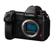 Panasonic Lumix S1H MILC Body 24,2 MP CMOS 12000 x 8000 Pixels Zwart