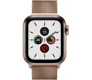 Apple Watch Series 5 GPS + Cell 40mm Steel Case Gold Loop