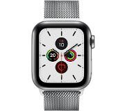 Apple Watch Series 5 40mm GPS + Cellular met Milanaise Armband