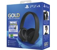 Sony Gold Wireless Headset Zwart + Fortnite