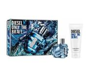 Diesel Only the Brave EdT 50ml + Showergel 100ml Geurset