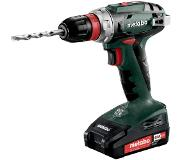 Metabo BS 18 Quick 18V Li-Ion accu boor-/schroefmachine set (2x 2.0Ah accu) in koffer