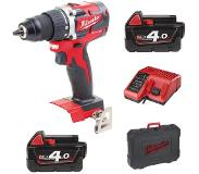 Milwaukee M18CBLDD-402C Li-Ion compacte boormachine Brushless