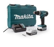 Makita HP347DWE accuklopboormachine + 2 Accu's