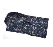 Culture Overhemd Modern Fit Print Navy