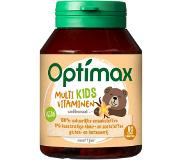 Optimax Kids Multivitaminen - Vanille - 90 kauwtabletten