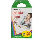 HEMA Colorfilm Instax Mini Glossy (2x10/pk) (wit)