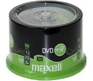 Maxell DVD+R 8x Spindle 4,7 GB 50 stuk(s)