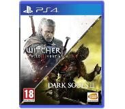 Namco Bandai Games Dark Souls III (3) & The Witcher 3: Wild Hunt Compilation (PS4)