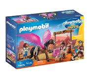 Playmobil - THE MOVIE Marla and Del with Flying Horse (70074)