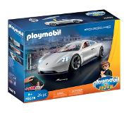 Playmobil PLAYMOBIL: THE MOVIE Rex Dasher's Porsche Mission E - 70078