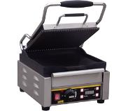 Buffalo Professionele Contact Grill Gegroefd/Glad | 2000Watt