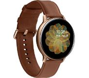 "Samsung Galaxy Watch Active 2 smartwatch Goud SAMOLED 3,43 cm (1.35"") Cellulair GPS"