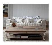 Riviera Maison Driftwood Coffee Table (wit, bruin)