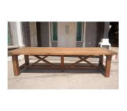 Brix Eettafel Silang 400 cm Breed (naturel)