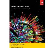 Adobe Creative Cloud Student & Docent versie - 1 gebruiker - 1 Jaar - (Windows/Mac)