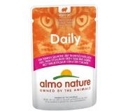 Almo Nature Daily Tonijn & Zalm 70 gram Per 60