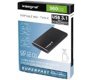 Integral 960GB Portable Solid State Drive Type-C / USB3.1