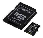 Kingston microSDXC Canvas Select Plus 256GB 100 MB/s + SD adapter