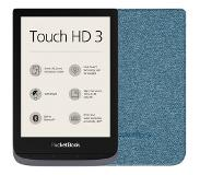 Pocketbook Touch HD 3 Grijs + Pocketbook Shell Touch HD 3 Blauw