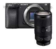 Sony A6400 body zwart + 70-350mm F/4.5-6.3 G OSS