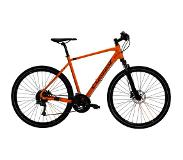 Crescent Helag Heren - 59 cm - Orange Matt Hybride fiets