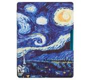 Shop4 - Kobo Aura H2O Edition 1 (2014) Hoes - Book Cover Gogh Sterren