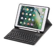Shop4 - iPad 9.7 2018 Toetsenbord Hoes - Bluetooth Keyboard Cover Business Zwart met Pencil Houder