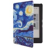 Shop4 - Kobo Aura Edition 2 (2016) Hoes - Book Cover Gogh Sterren