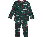 Ten Cate pyjama Sloths green maat 122/128