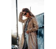 Colourful Rebel Hazel Raincoat Sand