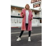 Colourful Rebel Oversized Teddy Pink