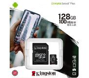 Kingston microSDXC Canvas Select Plus 128GB 100 MB/s + SD adapter
