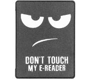 Smartphonehoesjes.nl Design Bookcase hoes voor de Kobo Aura H2O Edition 2 - Don't Touch