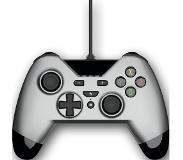 Gioteck WX4 Wired Controller Silver for Switch, PS3 and PC