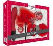 ToyJoy Just For You Luxe no 4. - Rood - Geschenkset
