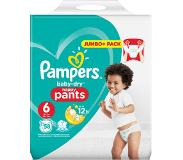 Pampers Baby-Dry Pants S6, x58, Luchtdoorlatende Banen