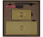 ZOEVA Teint Highlighter Cocoa Blend Value Kit Eyeshadow Palette 15 g + Highlighter Palette 6,4 g + Matte Liquid Lip Stick Faint of Heart 6,5 ml + Lip Liner Earthbound 1,14 g 1 Stk.