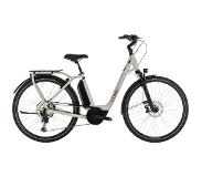 "Cube Town Sport Hybrid EXC 500 Easy Entry, grey'n'red 58cm (28"") 2020 E-Citybikes"