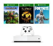 Microsoft Xbox One S All-Digital Edition (1TB) + 3 games & V-Bucks