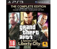 Rockstar Games Grand Theft Auto IV Complete Edition & Episodes from Liberty City (NL/FR)