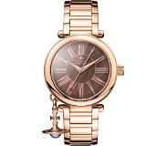 Vivienne Westwood Mother Orb Quartz horloge rose goud