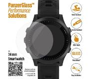 PanzerGlass Universele 34mm Smartwatch Screenprotector Glas