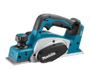 Makita DKP180Z 18V Li-Ion Accu schaafmachine body - 82mm - 2mm
