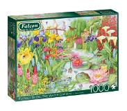 Jumbo - Puzzle 1000 - Flower Show - The Water Garden (11282)