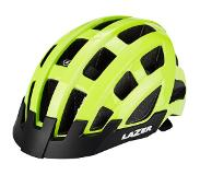 Lazer Compact Deluxe Fietshelm, flash yellow Onesize | 54-61cm 2020 City helmen