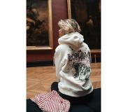 Colourful Rebel Dames Hoodie Wit - Oversized Fit - Polyester
